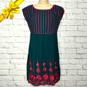 Naari Kurti Embroidered Dress/Tunic #kf06p01n12p10